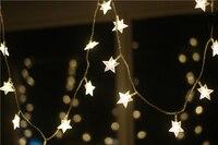 Новый 100 m светодиодный строка полосы 600 Star светодиодный праздник Рождество Свадьба Шторы оформление ламп
