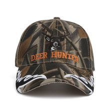 """Deer Hunter"" Embroidered Baseball Cap"
