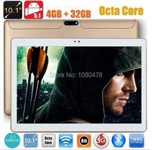 2017 New 10 inch Octa Core 3G Tablet 4GB RAM 32GB ROM 1280 800 Dual Cameras