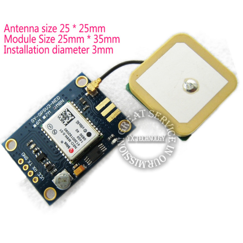 GYGPSV3-NEOM8N Ublox NEO-M8N-001 NEO-8M GPS Module for APM2.56 RTKLIB FZ1346