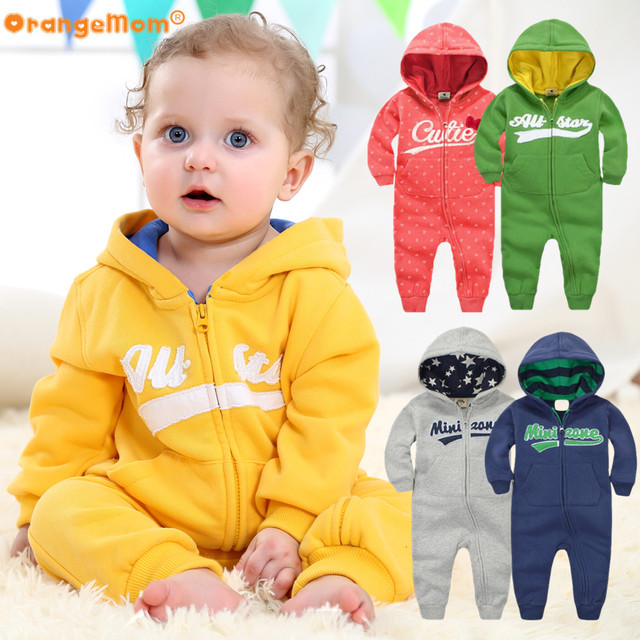 Sports hooded Jumpsuit for Infants | Fall Winter 2017 Collection