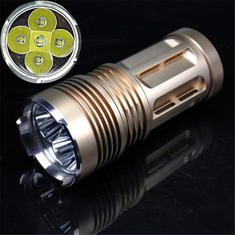 A1Bicycle Bike Light 8000 LM 5x XM-L T6 LED 18650 Tactical Flashlight Torch Hunting Lamp Light Sturdy And Durable Super Bright