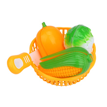 Kids Educational Toy 12PC Cutting Fruit Vegetable Pretend Play
