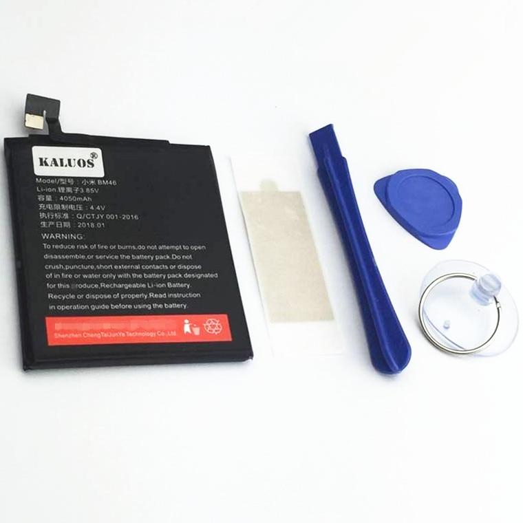4050 mAh BM46 KALUOS Batterie Pour Xiaomi Rouge Mi Note 3 Redmi note3 avec outil de réparation
