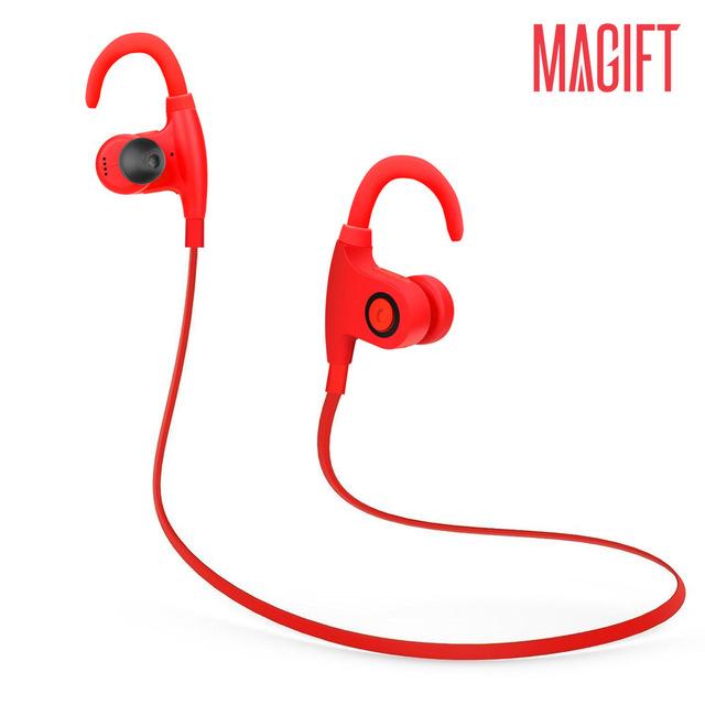 Resistente al agua ipx5 bluetooth v4.1 estéreo deporte auricular inalámbrico auriculares micrófono auriculares aptx para iphone7 6 samsung xiaomi auricular