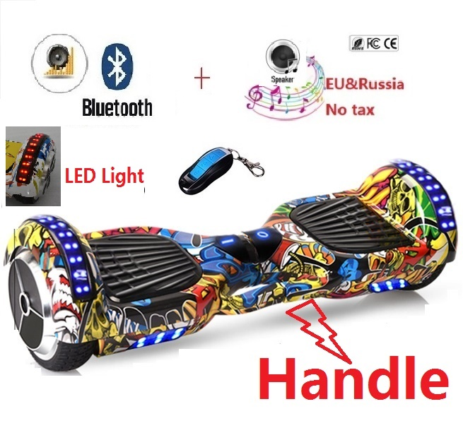 Self balancing scooter font b hoverboard b font skateboard gyroscooter hover board electric scooter two wheel