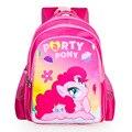 2017 новых детей мультфильм my little pony школьный девушки прекрасный рюкзак школьный Для детей дети Рождественский подарок bags011