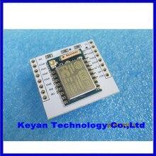 Serial WIFI ESP8266 module + adapter plate Full IO port leads (you can choose the ESP – 07, the ESP – 08, ESP – 12)