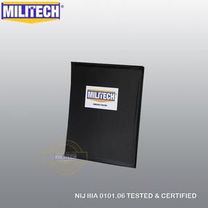 Image 3 - MILITECH 10 x 12 SC&STC Cut Pair NIJ Level IIIA 3A Aramid Soft Armour Ballistic Panel BulletProof Plate Inserts Body Armor
