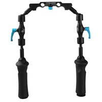 FOTGA DP3000 Adjustable Front Handle Hand Grip Clamp For 15mm Rod DSLR Rail Rig