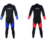 Layatone водолазный костюм Фирменная Новинка в стиле пэчворк с длинными рукавами Штаны Мужская 3 мм неопреновый гидрокостюм костюм для серфинг