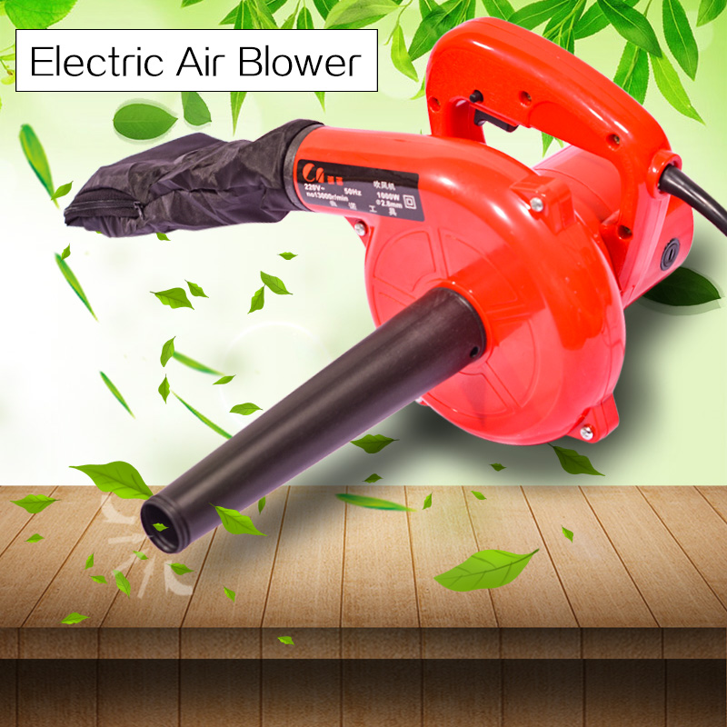 220V 1000W Electric Air Blower Portable Handheld Dust Collector Fan Spray Vacuum Cleaner Car Garden Studio Leaf Blowing Remover