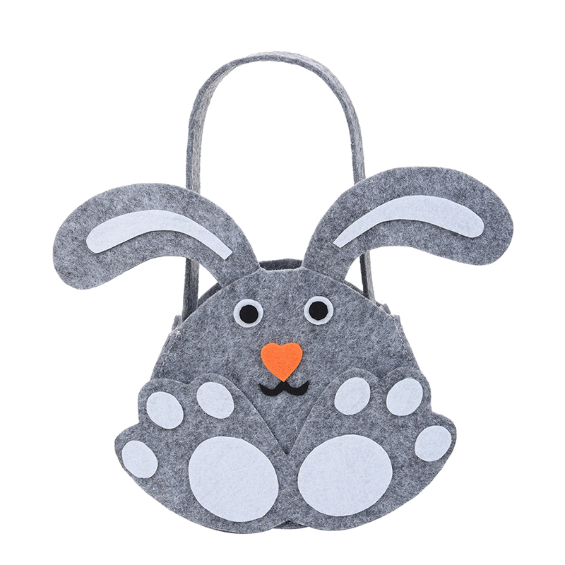 1pc High Quality Easter Bunny Shaped Egg Covers Lovely Easter Day Cartoon Portable Gift Egg Bags Party Decoration Drop Shipping