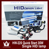 Waterproof Hid Xenon Kit 35w With 12v Slim 35w Ballast And H1 H3 H4 H8 H4