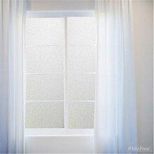 Etiqueta de la Ventana Estática Privacidad esmerilado Película De La Ventana Decorativa Decoración Del Hogar Para El Dormitorio Oficina Baño Parachoques ST002