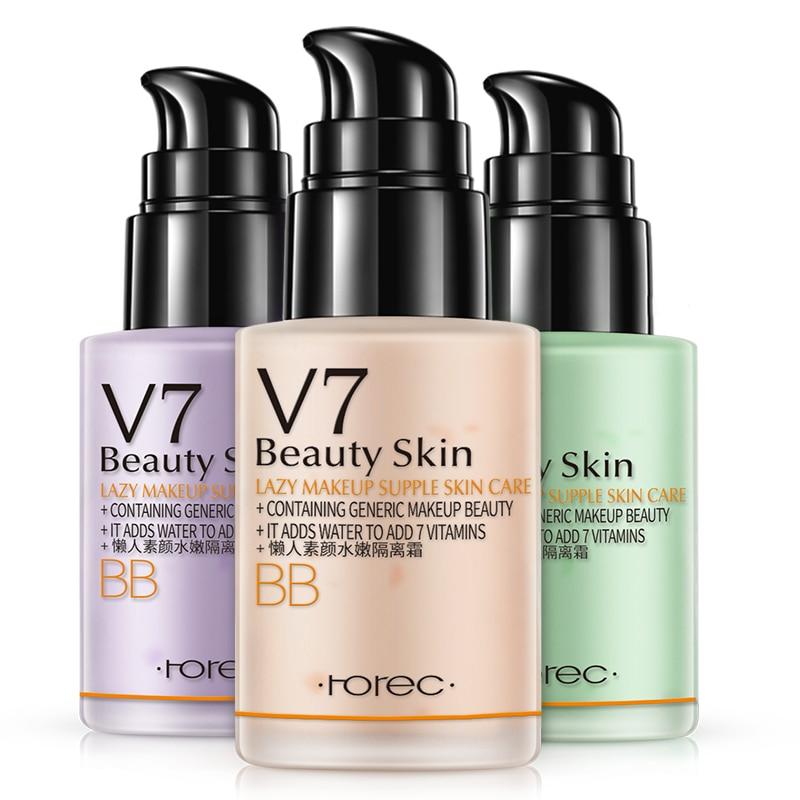 ROREC Hydrating Face Primer Makeup BBCream Instant Pore Eraser Primer Smooth Skin Perfecting Primer Base Foundation Liquid Cream 1