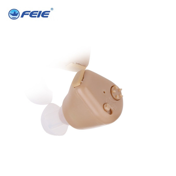 2PCS FEIE S-216 adapter euro Rechargeable Sound Enhancement  ite invisible medical Hearing Aid Drop Shipping new rechareable mini invisible ite k 88