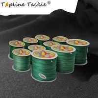 Topline Tackle 4X Multifilament Linie 100M 300M Schwimm Angelschnur Geflochtene Angel Gewinde für Angeln 0,25mm 0,3mm Durchmesser