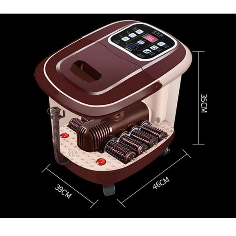 B07/Fully automatic heated electric footbath massage pediluvium ...