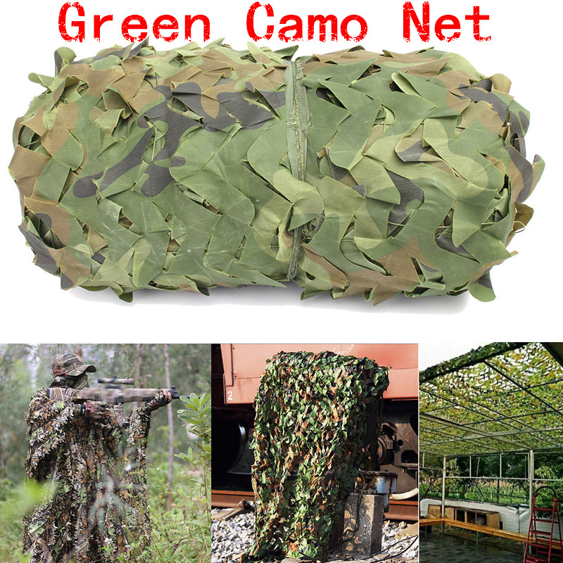 2X3 3X3 3X4 4X4M or Customized Military Camouflage Netting Outdoor CS Games Hide Mesh Netting Beach Sun Shelter Car Cover Tent