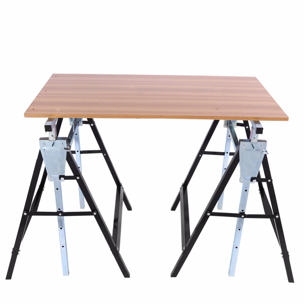 bench foldable table aluminium for units