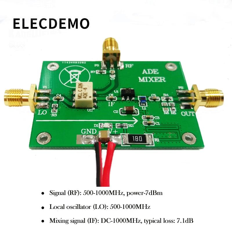 ADE 12H Module Mixer passivo per mixer ad alta frequenza 500M 1000MHz Mixing MINI Device Design originale in Demo Board Accessories from Computer Office
