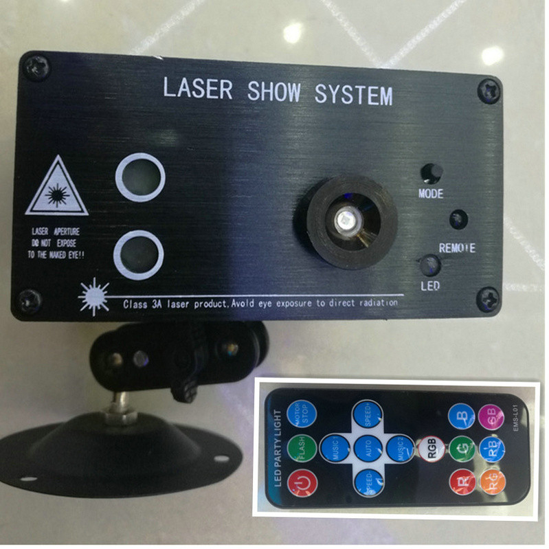 цена на Red Green Laser Lumiere LEDs Light and Music Equipment Blue LED Stage Effect Lighting for Disco light Xmas Party