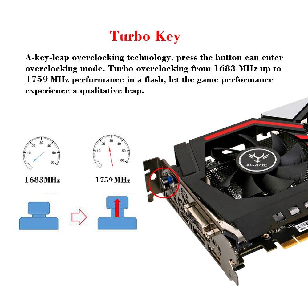 Colorful NVIDIA GeForce GTX iGame 1070 GPU Graphics card 8GB