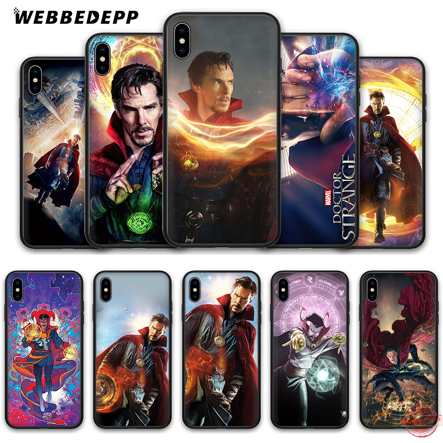 Fitted Cases Webbedepp Dr Marvel Doctor Strange Soft Silicone Tpu Phone Case For Iphone 5 5s Se 6 6s 7 8 Plus Xr X Xs Max Rich In Poetic And Pictorial Splendor Cellphones & Telecommunications