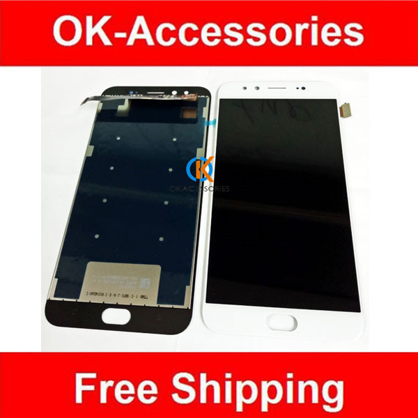 White Black Color High Quality For Vivo X9 Plus LCD Display+Touch Screen Digitizer Assembly 1PC /Lot