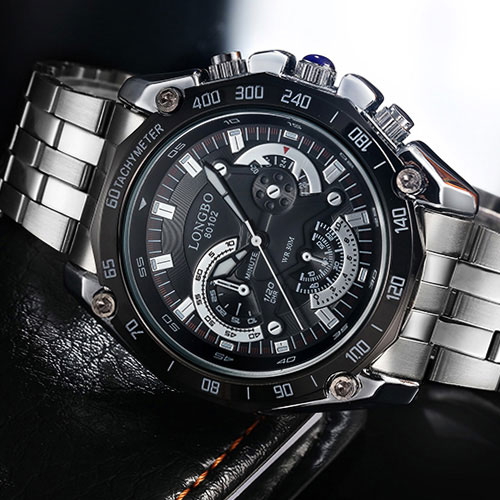 LONGBO Wristwatch New Quartz Watch Men Top Brand Luxury Fashion Wrist Watch Male Clock for Men Hodinky Relogio Masculino Ceasuri