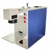 20W Optical Fiber Laser Marking And Engraving Machine Portable Desktop For Marking Ring Metal Material