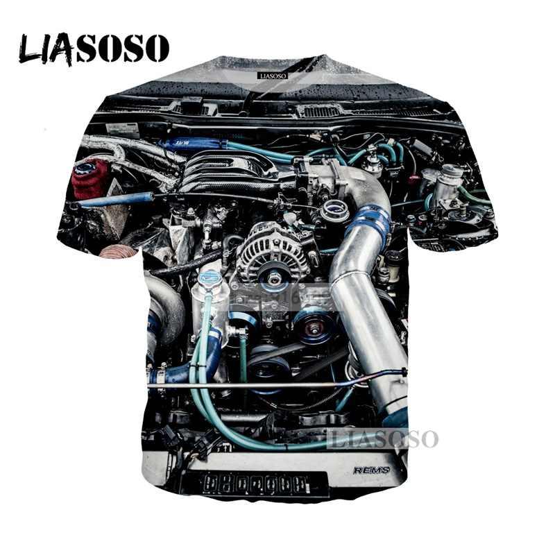 NEW Supercar 2001 Mazda Rx7 pattern Wankel Rotary Engine Power t shirt 3D  Print T-shirt/Hoodie/Sweatshirt Unisex Tees Tops