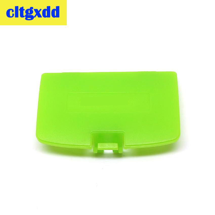 Cltgxdd 2pcs For Nintendo Game Boy Color GBC Battery Cover Pack Back Door Shell Replacement