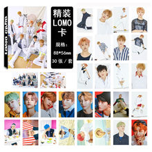 30Pcs/set K-POP NCT 127 Photocard Good quality K-pop NCT DREAM New album WE GO UP HD Lomo Photo Cards Fashion new arrivals(China)