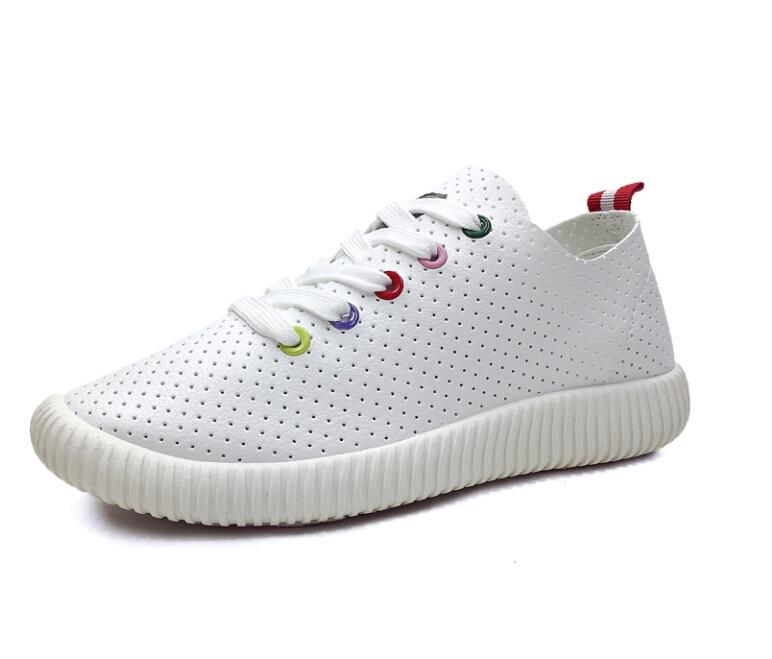 High Quality Summer Fashion Casual Shoes Hollow Breathable Air Mesh Flat Shoes font b Women b