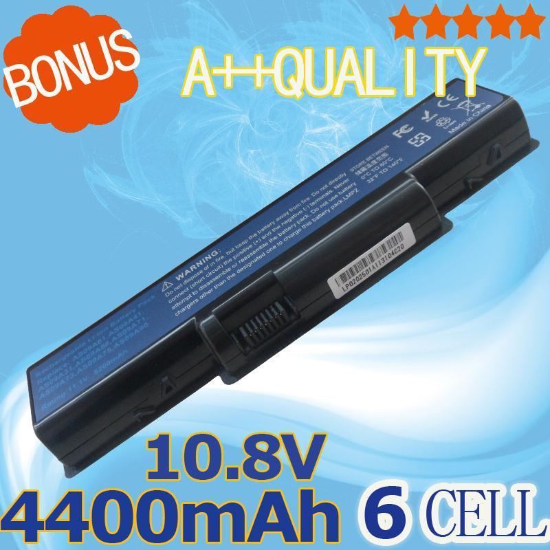 4400mAh Battery for Acer Aspire 5516 5517 5532 5732z 4930 eMachines E725 E525 AS09A31 AS09A41 AS09A56