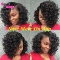 Loose Deep Wave 7A Brazilian Virgin Hair Cheap Hair Bundles 3 pc lot  Curly Weave Human Hair Deep Wave Brazilian Hair Bundles