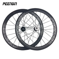 carbon wheel rental price 23mm width 50mm Tubular carbon track wheel carbon single speed wheelset supply with brake pads&skewers