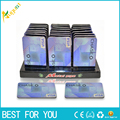 10pcs/lot Magnetic Credit Card Hand smoking Portable small pipe Size 51mm*83mm for tobacco Pipe for Weed with chase bank pattern