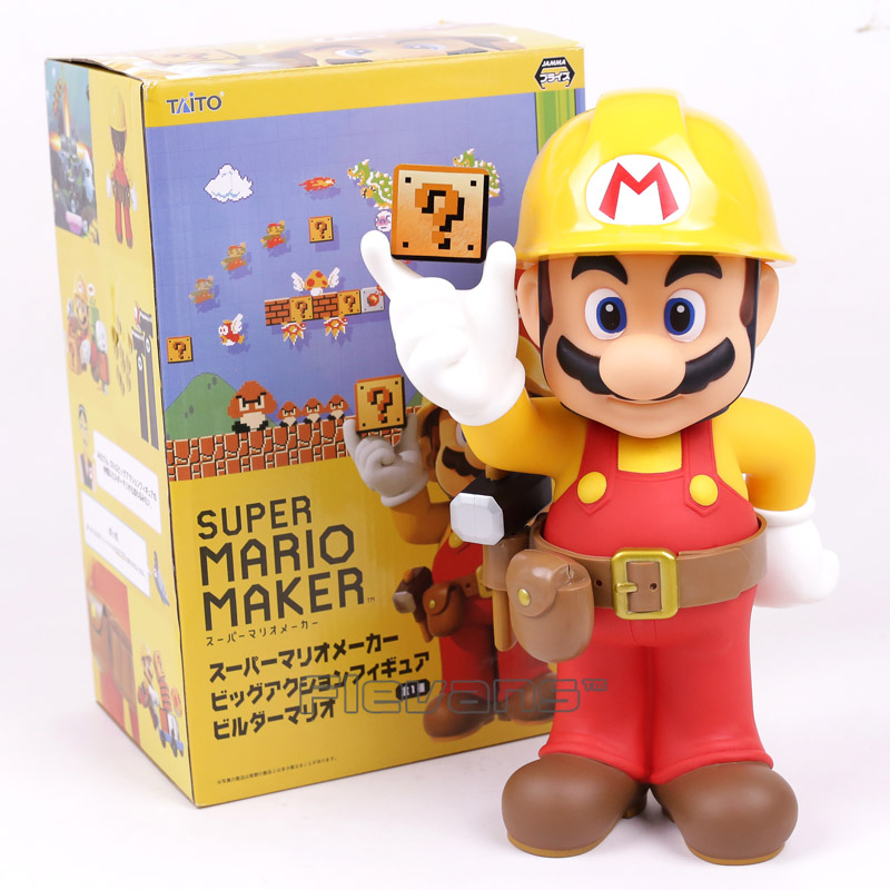 Super Mario Brothers Maker 30th Anniversary PVC Action Figure Collectible Model Toy 12inch 30cm new hot christmas gift 21inch 52cm bearbrick be rbrick fashion toy pvc action figure collectible model toy decoration