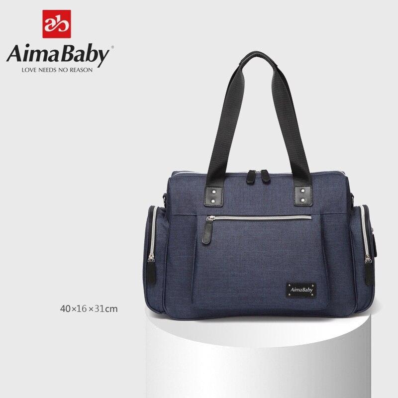 Grand sac à langer organisateur sacs à couches sacs de maternité pour mère bébé sac poussette sac à main sac à main Bolsa Maternidade - 2