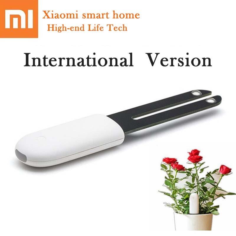 Xiao mi fleur Smart moniteur testeur capteur herbe fleur soin sol eau lumière plantes moniteur détection HHCC Version anglaise