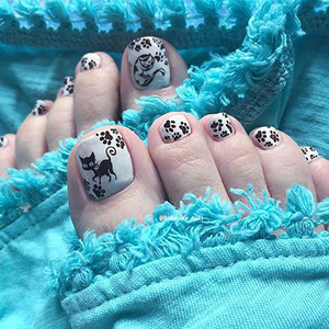 Image 4 - BeautyBigBang 6*12ซม.ปั๊มสำหรับเล็บแมวสุนัขภาพเล็บปั๊มแผ่นเล็บแม่พิมพ์BBB XL 008