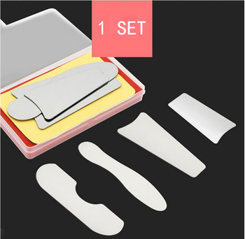 4pcs/set Dental Orthodontic Intraoral Photographic Reflector Mirror 2 Sided Stainless Steel Dentistry Material Dentist Tools