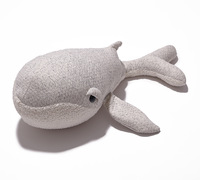 Creative Home decor Pillow Lovely Stuffed Soft Plush doll Cushion dolphin for Kids Baby Toy Gift 90*30cm