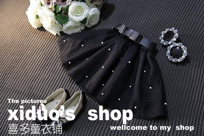 Sweet Girl Bow Tutu Skirt Babay Girl Princess Bow Gown Skirt (2)