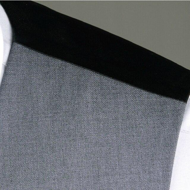 free shiping  Beckham bakham mens suits vest male casual slim vest pant set (vest+pant)  plus size XXXL