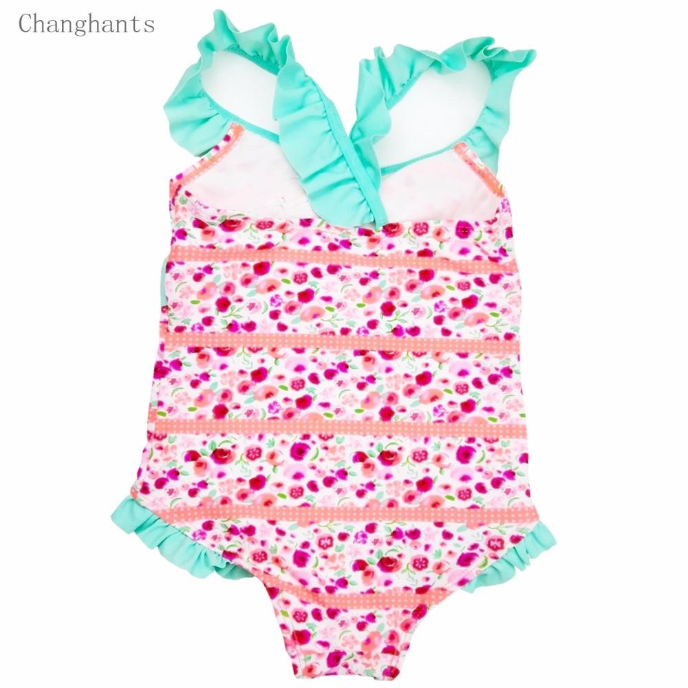 Երեխաներ լողազգեստներ 2-6Y վարդագույն - Սպորտային հագուստ և աքսեսուարներ - Լուսանկար 2