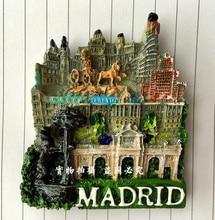 Madrid, Spain refrigerator stickers